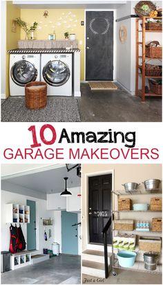10 Amazing Garage Makeovers