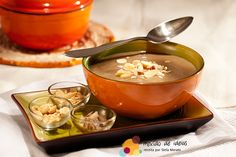 Conheça a sopa doce de café de Cabo Verde.  #Receita  #Cafe  #Sopa