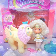 Moondreamers Dolls - Pastel Love! www.CuteVintageToys.com Hundreds Of Precious Vintage Toys From The 80s & 90s FOR SALE Now! Use The Coupon Code PINTEREST For 10% Off Your ENTIRE Order! Dozens of G1 My Little Pony, Polly Pockets, Popples, Strawberry Shortcake, Care Bears, Rainbow Brite, Moondreamers, Keypers, Disney, Fisher Price, MOTU, She-Ra Cabbage Patch Kids, Dolls, Blues Clus, Barney, Teletubbies, ET, Barbie, Sanrio, Muppets, Sesame Street, & Fairy Kei Cuteness....