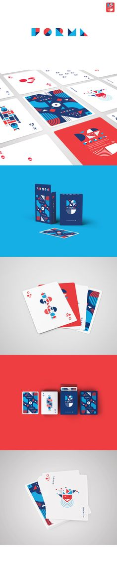 "Check out this @Behance project: ""FORMA card deck"" https://www.behance.net/gallery/41783637/FORMA-card-deck"