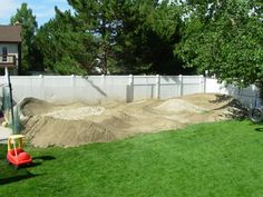 backyard pump track skate longboard and ramps pinterest