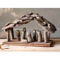Driftwood Nativity Scene | Find it at the Foundary