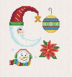 Small Christmas Designs cross stitch pattern.