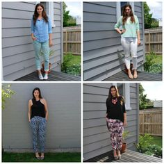 Some of the latest #everydaystyle outfits over on the blog.  #wiwt #ootd