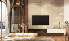 The second group of television library ideas ideas . - The second group of television libraries ideas Interior TIPS - Living Tv, Home Living Room, Modern Living, Living Room Tv Unit Designs, Interior Design Living Room, Sala Indiana, Tv Unit Furniture Design, Tv Unit Decor, Modern Tv Wall Units