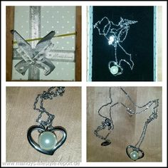 Halskette Herz Perle von Guirui Jewelry - Kreiere Dein Leben-Mandys Lifestyle Report