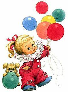 clowns.quenalbertini: Birthday girl clown