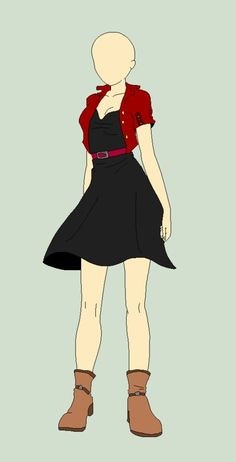 Manga Clothes, Drawing Anime Clothes, Dress Drawing, Character Costumes, Character Outfits, Character Art, Fashion Design Drawings, Fashion Sketches, Anime Outfits