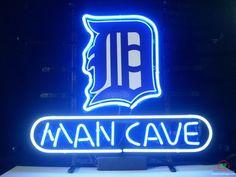 Man Cave Detroit Tigers Neon Sign MLB Teams Neon Light