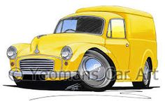 Bildergebnis für Morris Minor van Morris Minor, Vans, Yellow, Van, Gold