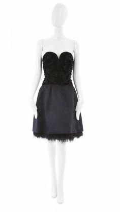 A Givenchy haute couture dress, circa 1965