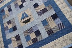 Baby Boat Quilt by QOB, via Flickr