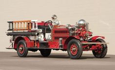 1925 Ahrens-Fox NS4 Fire Truck