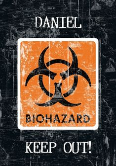 This notepad has a bold 'Biohazard Catuion' design which features your chosen name and a message of up to 80 characters for the first page. This gift would be ideal for the teenager in your life, or even for an adult who is a teenager at heart. Personalised Childrens Gifts, Personalized Gifts, Customised Gifts, Custom Gifts, First Page, Stripes Design, Little Gifts, Notebook, Messages