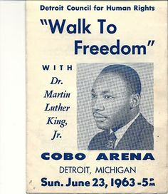 MLK in Detroit,MI