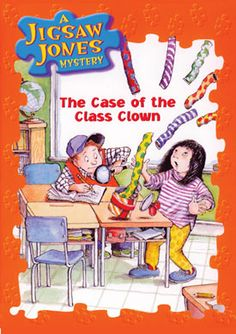 Clever, funny detectives Jigsaw Jones and Mila Yeh solve mysteries in shool and out.