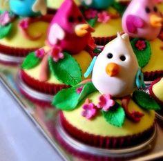 Chicks cupcakes
