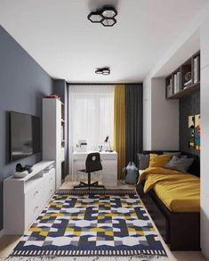 Home Room Design, Kids Room Design, Home Office Design, Home Office Decor, Small Room Bedroom, Bedroom Decor, Bedroom Ideas, House Rooms, Cheap Home Decor