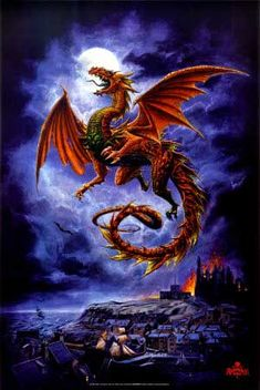 Mystical Fantasy Pictures of Dragons | Wright American Fiction, 1851-1875 – Library Electronic Text