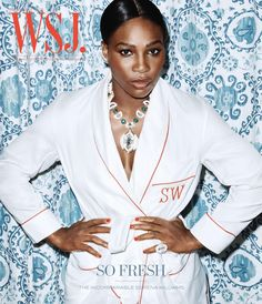 Serena Williams on the July 2016 Cover of W.S.J. Magazine