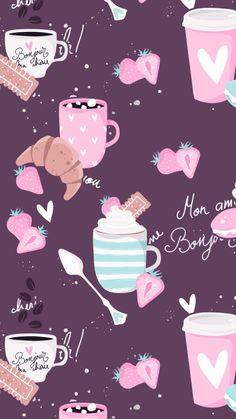 Muito fofinho♡ Cute Wallpaper Backgrounds, Wallpaper Iphone Cute, Cellphone Wallpaper, New Wallpaper, Flower Wallpaper, Screen Wallpaper, Mobile Wallpaper, Cute Wallpapers, Whatsapp Wallpaper