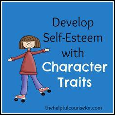 Self-esteem and character traits