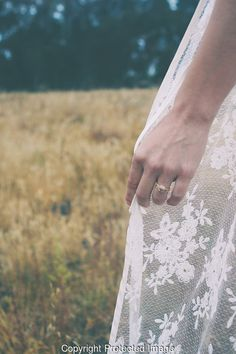 LOUD LOVE PHOTOGRAPHY #wedding #dress #loudlovephotography #romance #marriage #theknot #Bride #nails #ring #lace #white #field #nature #california #sandiego #losangeles #socal