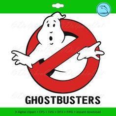 Ghostbusters Silhouettes, silhouette for cutting, scrapbooking Ghostbusters svg, Ghostbusters dxf, Ghostbusters eps vector printable files by DolphinCut on Etsy Ghostbusters Birthday Party, Vinyl Cutting, Coreldraw, Eps Vector, Vinyl Projects, Svg Cuts, Silhouette Studio, Clipart, Cricut Design