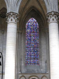 Cathédrale Notre-Dame de Rouen stained glass