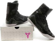 Nike Kobe IX Elite Mens Basketball Shoes Gray black1