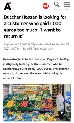 Butcher Shop, Amsterdam, News