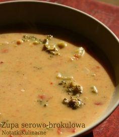 Zupa brokułowo-serowa według Bajaderki
