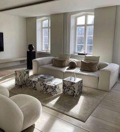 Room Design Bedroom, Home Decor Bedroom, Home Living Room, Living Room Designs, Living Room Decor, Living Spaces, Piece A Vivre, Dream Home Design, Home And Deco