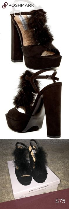 Steve Madden platforms BRAND NEW Brand new never worn ! No box anymore took up too much space Steve Madden Shoes Platforms