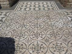Floor mosaic, Hadrian's Villa by B. Ketcham, via Flickr