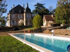 manoir, belle demeure, château, maison de maitre, maison bourgeoise, piscine