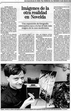 Publicación en el Mundo de la Exposición estenopeica de la Casa Museo Modernista.