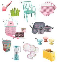 Veja como dar um up na sua cozinha com utensílios candy color, você vai se apaixonar! <3