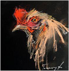 Emőke Pasztell ,plakátkarton 15 x 15 cm