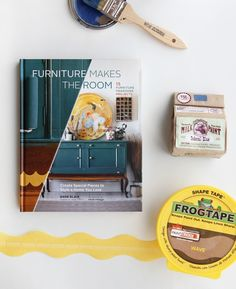 Want to perk up your home? Preorder Furniture Makes the Room and get Milk Paint and FrogTape®