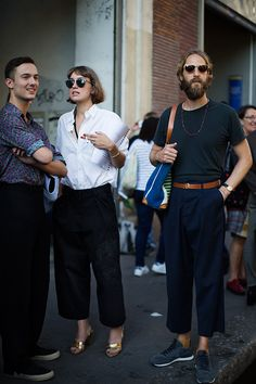 On the Scene…Outside Dries, Paris