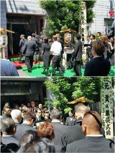 九重親方元 千代の富士の葬儀に参列しました  親方生前は大変お世話になりましたそしていつも優しくしてくれて本当にありがとうございました  ご冥福を心よりお祈り致します安らかにお休みください tags[東京都]