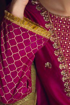 Deeba (Two Piece)-Restocked – Zaaviay Embroidery Suits Punjabi, Embroidery Suits Design, Stylish Dress Designs, Stylish Dresses, Fashion Dresses, Jamawar Dresses, Pakistani Frocks, Pakistani Dresses, Raw Silk Fabric