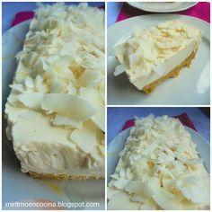¿Te perdiste la receta de esta deliciosa tarta del blog MI RITMO EN LA COCINA? Aquí la tienes de nuevo.