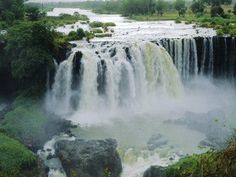 The Blue Nile located in Ethiopia is the source of the world's longest river. It's believed to be the River Gihon mentioned as flowing out of the Garden of Eden in Genesis 2.