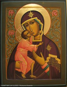 Fyodorov Mother Of God - icon Russian Icons, Catalog, God, Artwork, Dios, Work Of Art, The Lord