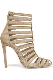 SchutzEmbellished suede sandals