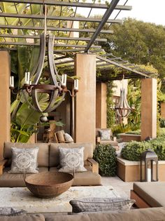 Beautiful patio space...