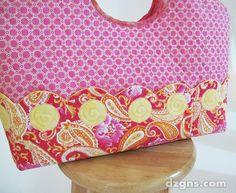 Hobo Tote Blog Tour Sewing With Nancy, Nancy Zieman, Handbag Patterns, Diy Purse, Sewing Projects, Sewing Ideas, Fabric Bags, Tote Handbags, Fabric Crafts