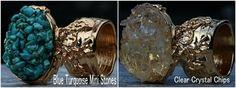 Gemstone Chips Arty Inspired Ring Turquoise Crystal Quartz Pyrite Garnet Peridot Amethyst Citrine  Amazonite Mix Gold Silver Artsy by crystalelements1 on Etsy https://www.etsy.com/listing/238969709/gemstone-chips-arty-inspired-ring